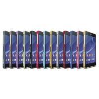 Алюминиевый бампер для Sony Xperia Z2 красный