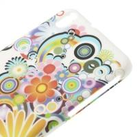Кейс чехол для HTC Desire 816 Colorful Flowers