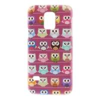 Кейс чехол для Samsung Galaxy S5 mini Rose Owls