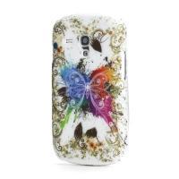Кейс чехол для Samsung Galaxy S3 mini Colorful Butterfly