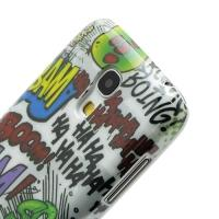Кейс чехол для Samsung Galaxy S4 mini Graffiti