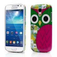 Кейс чехол для Samsung Galaxy S4 mini  Green Owl