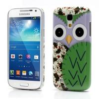 Кейс чехол для Samsung Galaxy S4 mini  Purple Owl