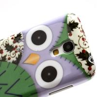 Кейс чехол для Samsung Galaxy S4 mini  Purple Owl