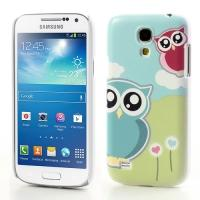 Кейс чехол для Samsung Galaxy S4 mini  Owl happy
