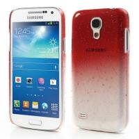 Кейс чехол для Samsung Galaxy S4 mini Transpanent Red