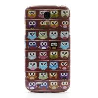 Кейс чехол для Samsung Galaxy S4 Brown MultiOwl