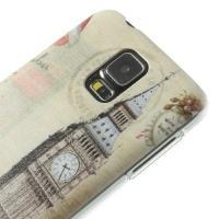 Кейс для Samsung Galaxy S5 орнамент Биг-Бен