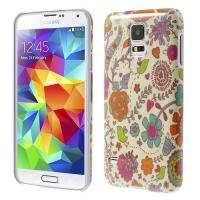 Кейс для Samsung Galaxy S5 Birds and Flowers