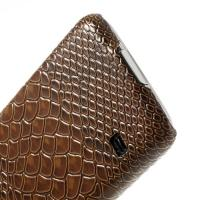 Кейс для Samsung Galaxy S5 Snake Leather Brown
