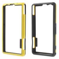Силиконовый бампер для Sony Xperia Z1 Compact желтый