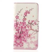 Чехол книжка для Sony Xperia Z1 Compact орнамент Sakura