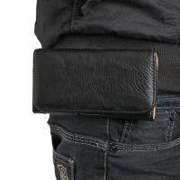 Чехол-футляр на пояс для смартфона черный