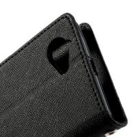 Flip чехол книжка для Sony Xperia L Deep Black