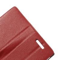 Flip чехол книжка для Sony Xperia C красный