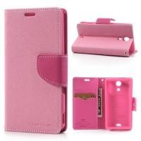 Flip чехол книжка для Sony Xperia ZR розовый