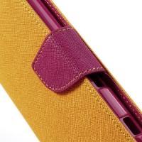 Flip чехол книжка для Sony Xperia ZR Bubble Gum