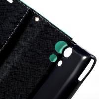Flip чехол книжка для Sony Xperia ZR морской бриз
