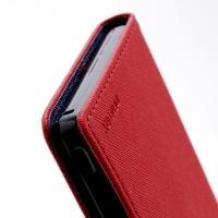 Flip чехол книжка для Sony Xperia Z красный