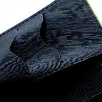 Flip чехол книжка для Sony Xperia Z Green/Dark Blue