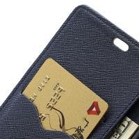 Flip чехол книжка для Sony Xperia Z темно-синий
