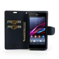 Flip чехол для Sony Xperia Z1 фиолетовый