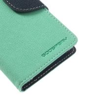 Чехол книжка для Sony Xperia Z1 Compact Cyan