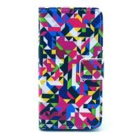 Чехол книжка для Sony Xperia Z1 Compact орнамент Geometric Pattern