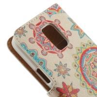 Чехол книжка для Samsung Galaxy S5 mini Geometric Pattern