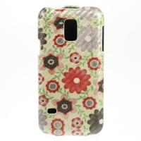 Чехол Down Flip для Samsung Galaxy S5 mini Yellow Flower Pattern