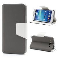 Flip чехол для Samsung Galaxy Mega 5.8 серый