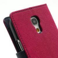 Flip чехол книжка для Samsung Galaxy S4 mini Rose