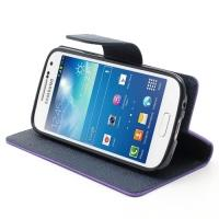 Flip чехол книжка для Samsung Galaxy S4 mini фиолетовый