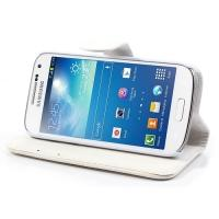 Чехол книжка для Samsung Galaxy S4 mini белый