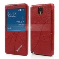 Flip чехол книжка для Samsung Galaxy Note 3 красный