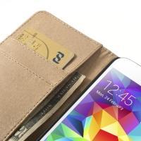 Чехол книжка для Samsung Galaxy S5 Color Stripes