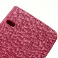 Чехол книжка для Sony Xperia Go розовый