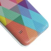 Сменная панель для Samsung Galaxy S5 с орнаментом Ромбы