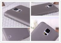 Ультратонкий пластиковый чехол для Samsung Galaxy S5 mini серый