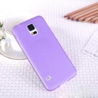 Ультратонкий пластиковый чехол для Samsung Galaxy S5 mini фиолетовый