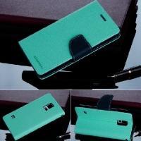 Чехол книжка для Samsung Galaxy S5 Goospery светло зелёный cyan