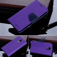 Чехол книжка для Samsung Galaxy S5 Goospery Фиолетовый