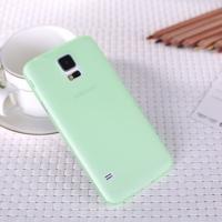 Ультратонкий пластиковый чехол для Samsung Galaxy S5 зеленый