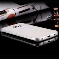 Ультратонкий пластиковый чехол для Samsung Galaxy S6 Edge черный