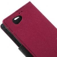 Чехол книжка для Sony Xperia Z1 Compact Candy Rose