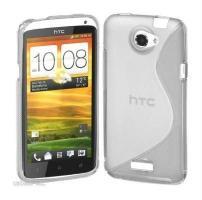Силиконовый чехол для HTC One X прозрачный
