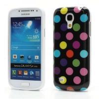 Силиконовый чехол для Samsung Galaxy S4 mini Black&Multicolor Bubble