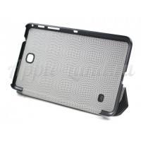 Кожаный чехол-книжка для Samsung Galaxy Tab 4 7.0 DREAM черный