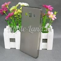 Матовый силиконовый чехол для Samsung Galaxy A5, Galaxy A5 Duos - чёрный