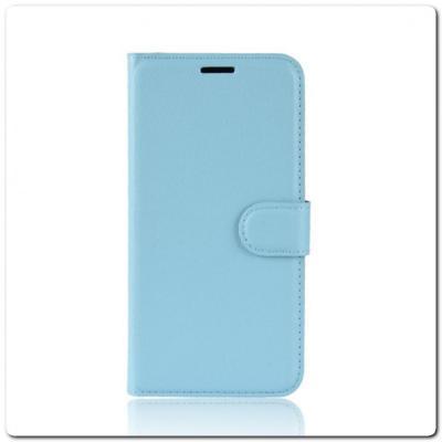 Чехол Книжка Book Wallet с Визитницей и Кошельком для Samsung Galaxy A70 Синий